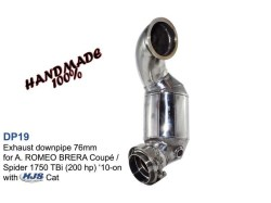 Smart ForTwo Brabus 450 Exhaust Downpipe 42mm