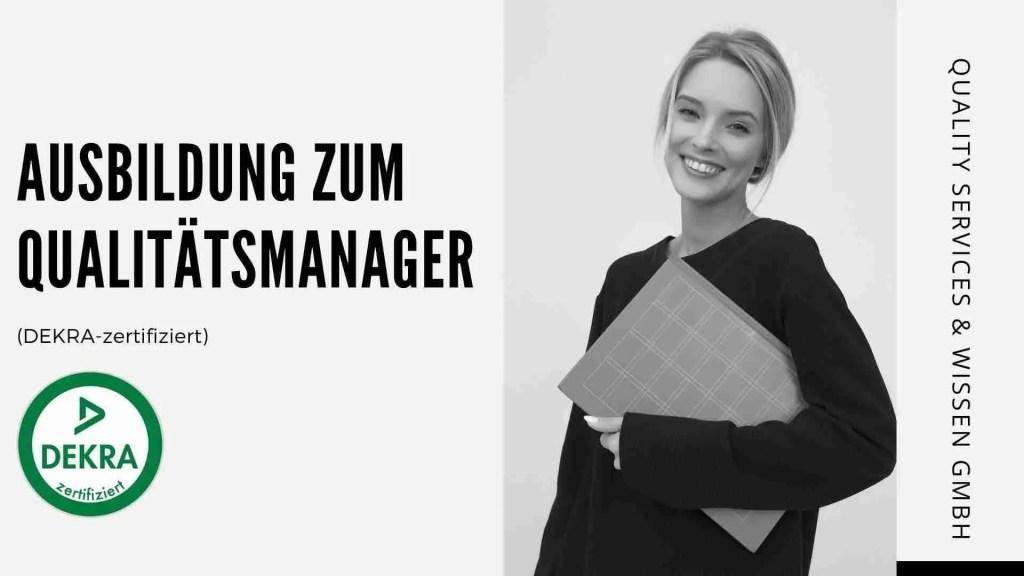 Quality Manager | Qualitätsmanager | Qualitätsmanager Ausbildung