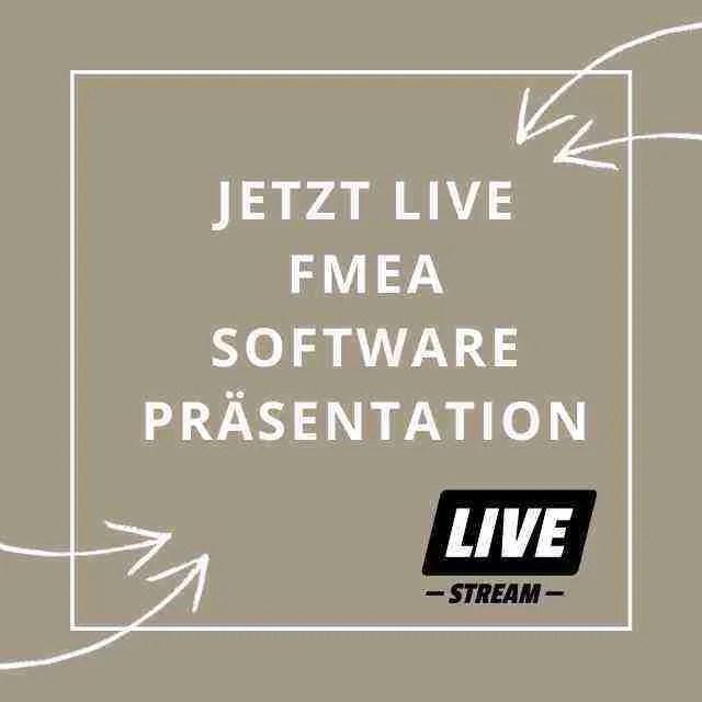 Live: FMEA Sprechstunde