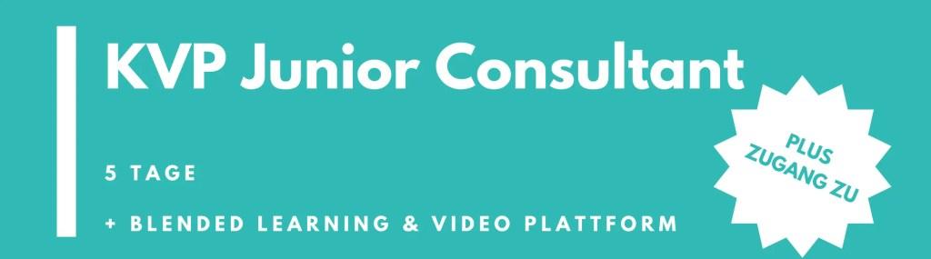 KVP Junior Consultant – Ausbildung