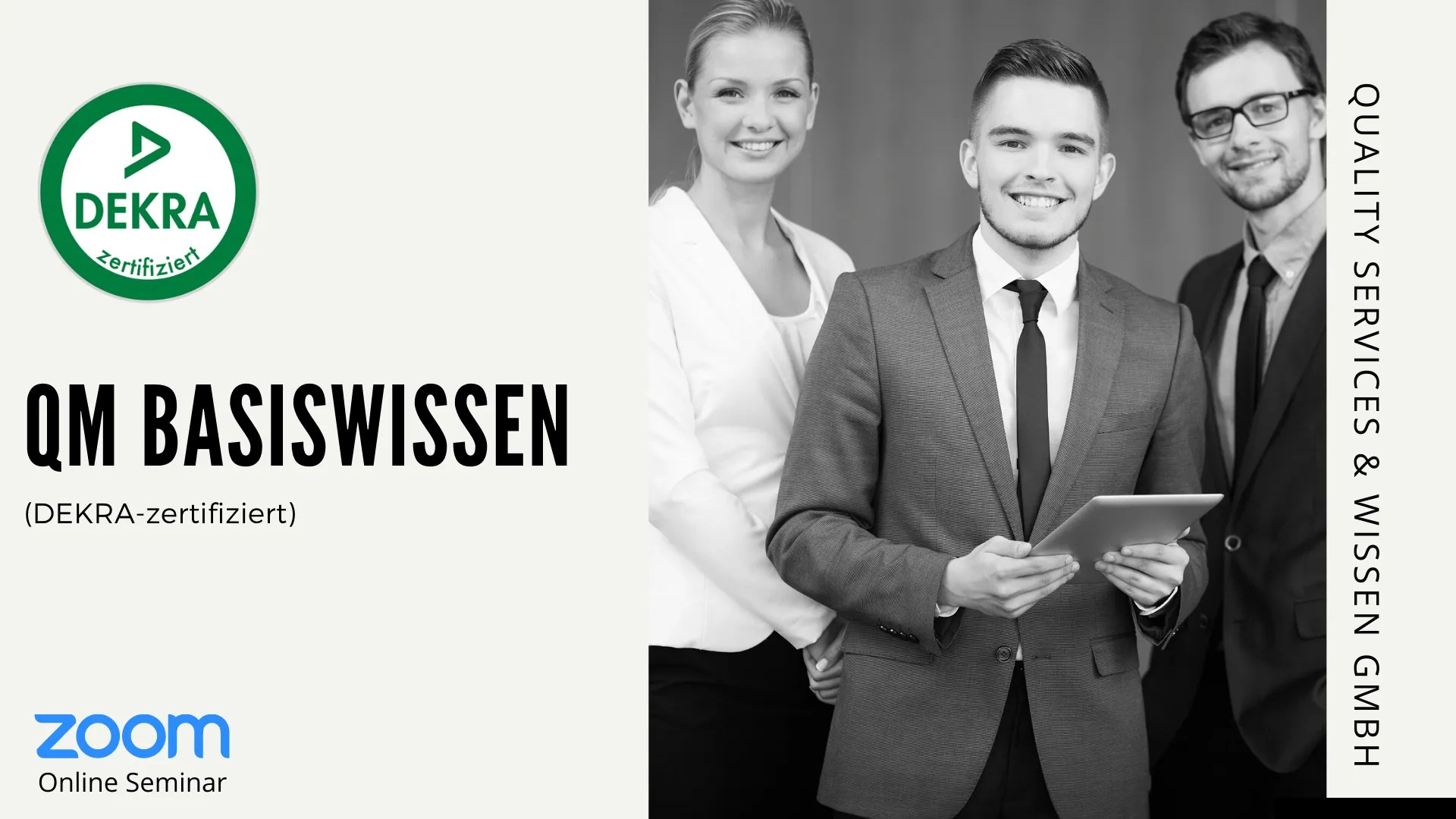 QM Basiswissen – Webinar