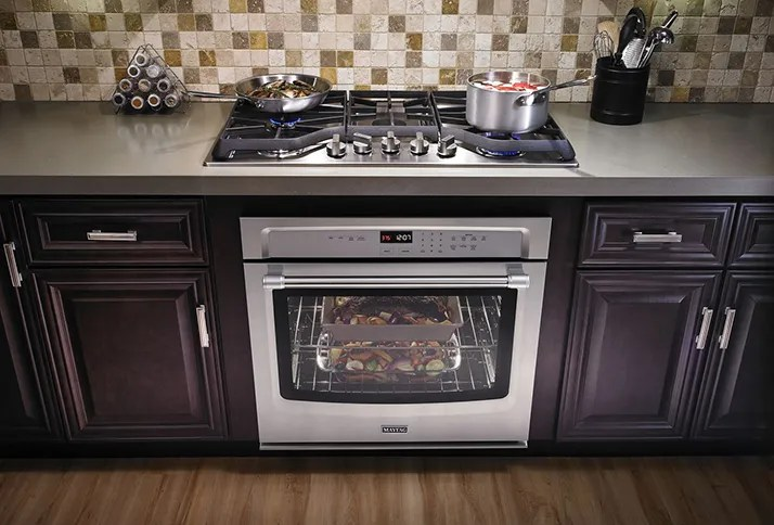 maytag kitchen appliances island with leaf make cooking fun a cooktop shop from top