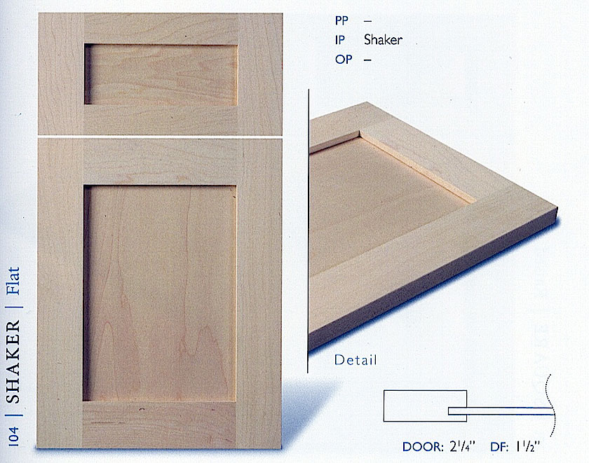 100Series Kitchen Cabinet Door Profiles