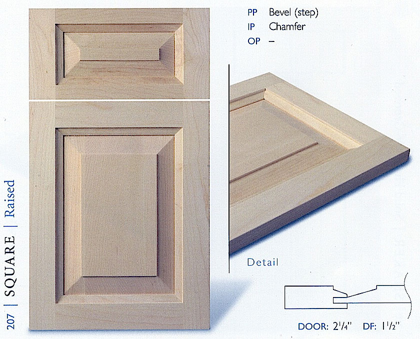 200Series Kitchen Cabinet Door Profiles