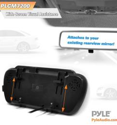 pyle plcm7200 backup camera rearview monitor parking assist pyle plcm7200 wiring diagram [ 1000 x 1000 Pixel ]