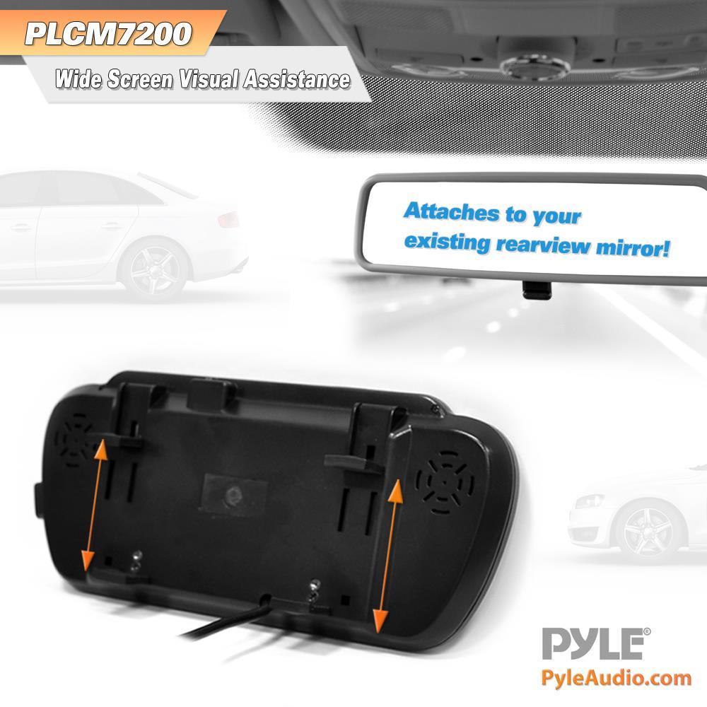 medium resolution of pyle plcm7200 backup camera rearview monitor parking assist pyle plcm7200 wiring diagram