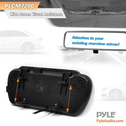 small resolution of pyle plcm7200 backup camera rearview monitor parking assist pyle plcm7200 wiring diagram