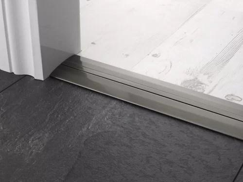 Extra Wide Door Threshold Bars pewter
