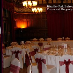 Wedding Chair Cover Hire Pembrokeshire Revolving Indiamart Welcome To Quality Delivering Covers Burgundy Sash