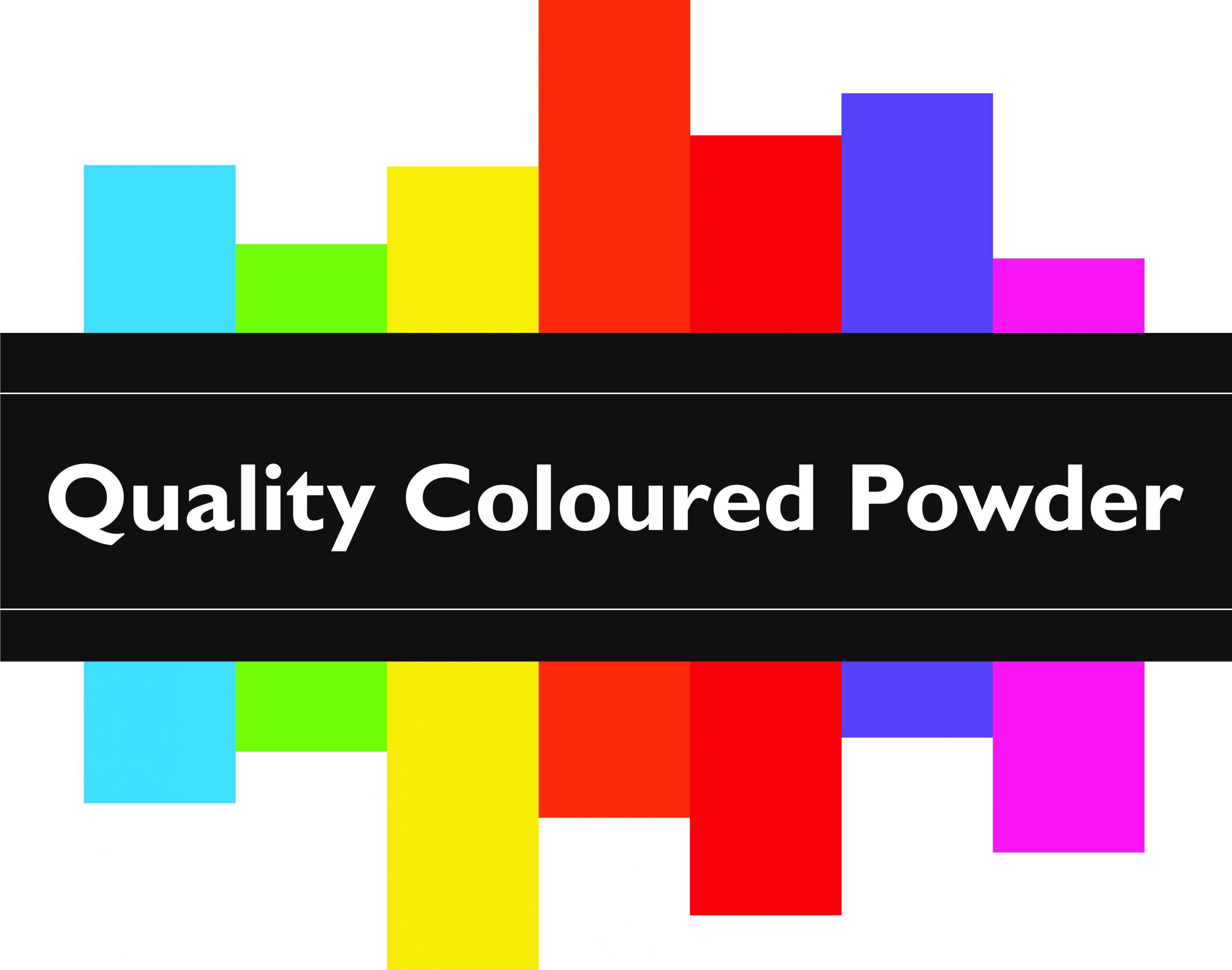 babys gender with vibrant coloured powder