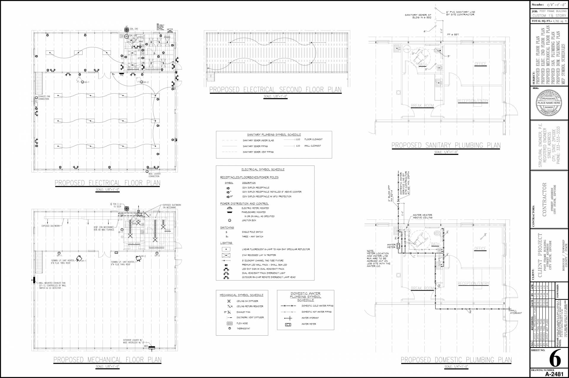 hight resolution of autocad drafting services
