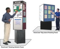 Product News: Freestanding RotoCube Rotating Bulletin ...