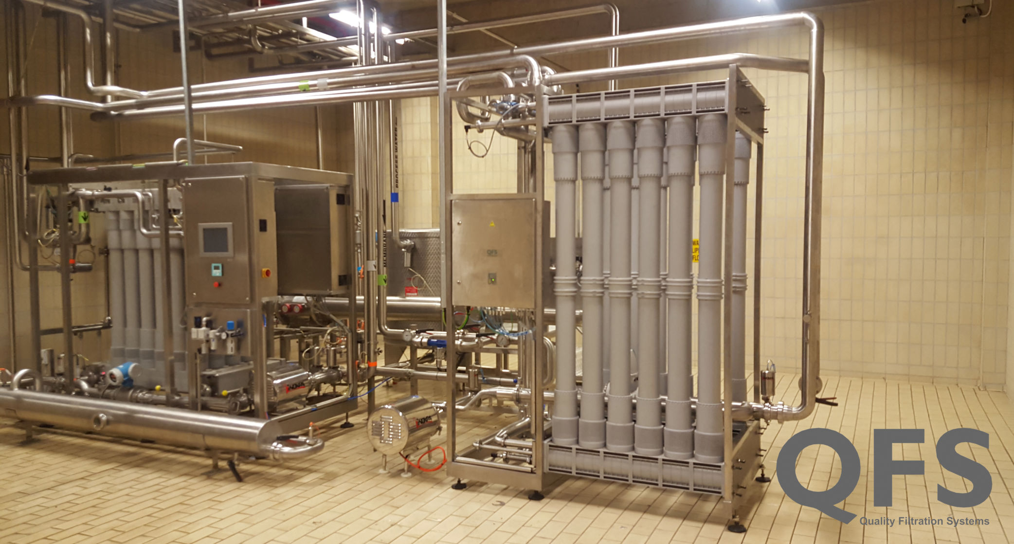 Valpre First & Second phase Ultrafiltration Plant