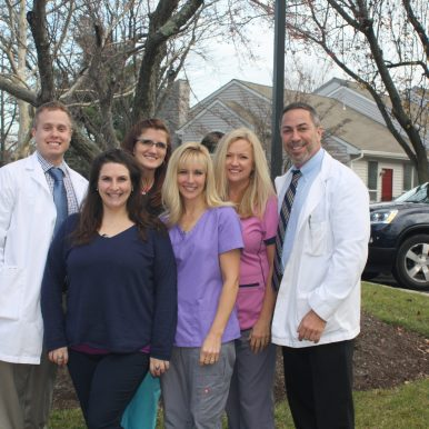 staff at our podiatry office