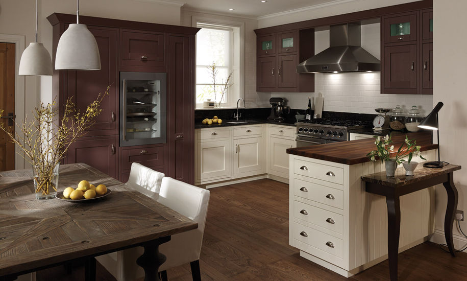 quality kitchen doors nottingham dark finish