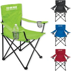 Personalized Folding Chair Arm Dining Promotional Point Loma Event With Carrying Bags Bag