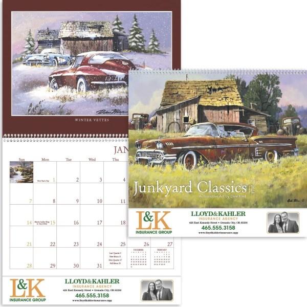 Click Order 2020 Junkyard Classics Calendar