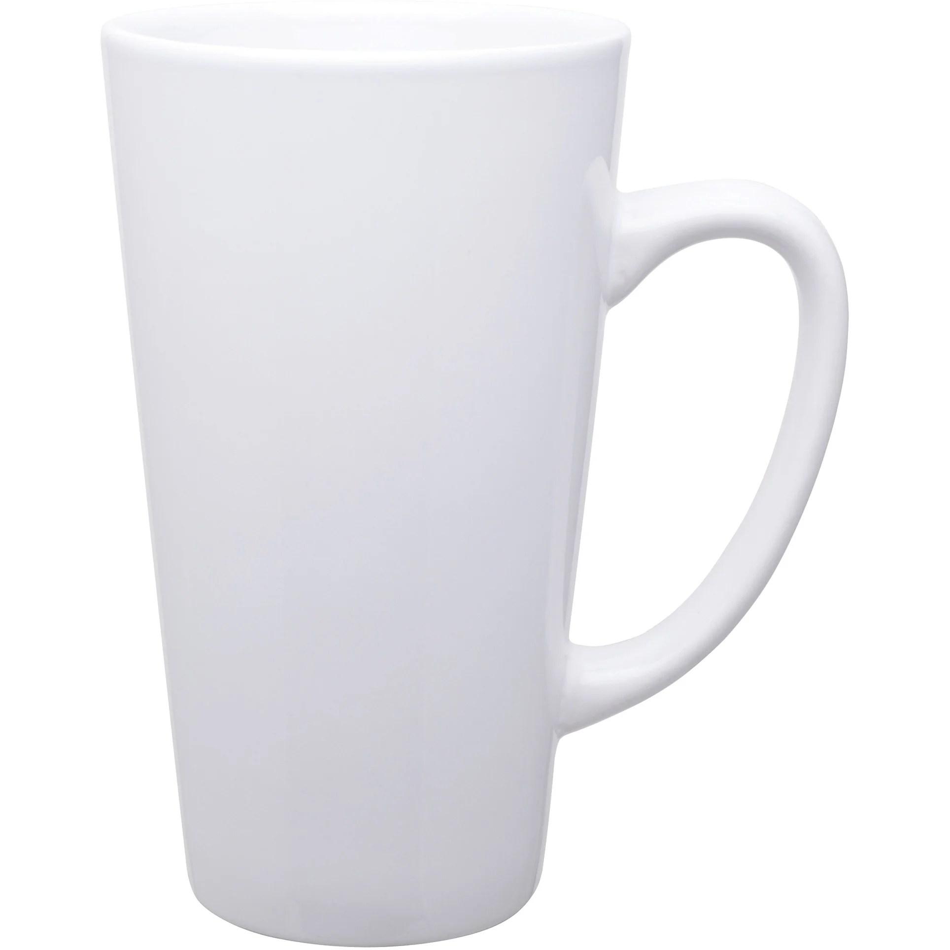 tall latte ceramic mug