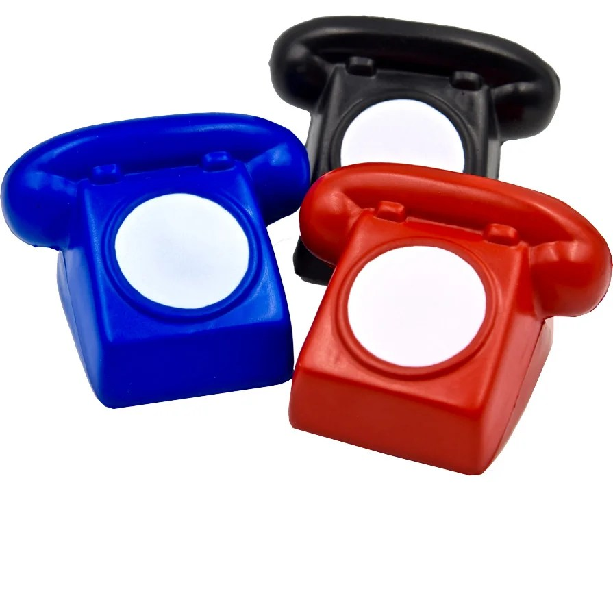 hight resolution of rotary phone stress toy
