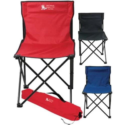folding bag chair all mesh office canada promotional price buster with carrying bags custom logo for 11 99 ea