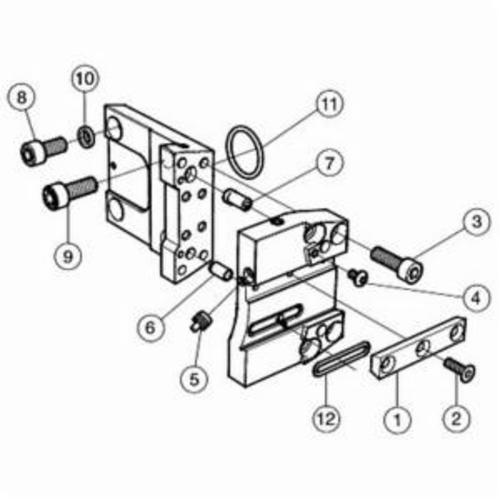 Sandvik Coromant 6749548 Left Hand Adapter, BMT Turret