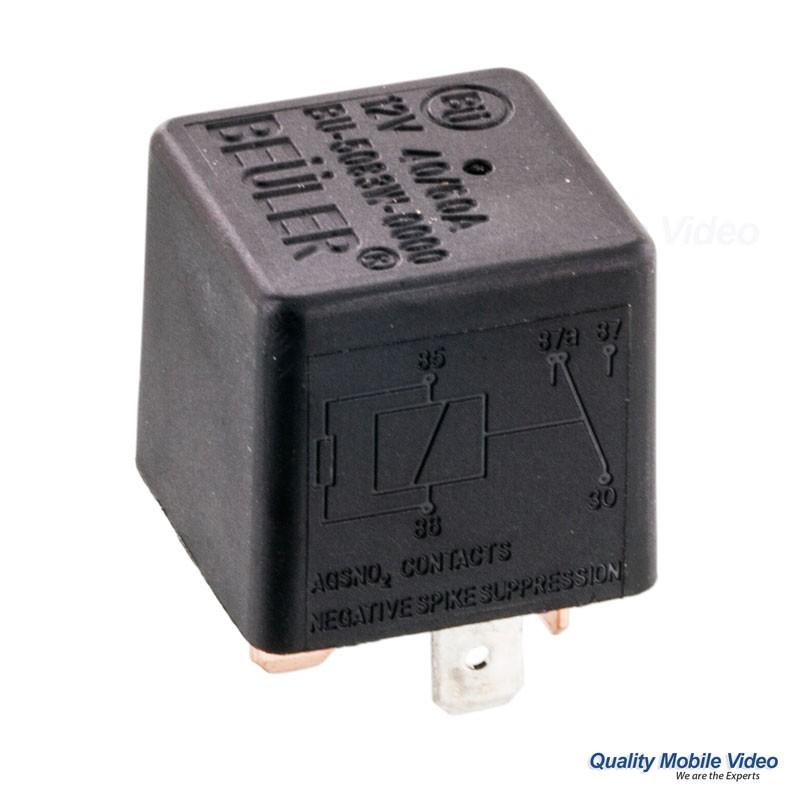 12 volt 30 amp relay diagram 2000 nissan pathfinder engine beuler 5083w vdc 5-pin spdt 40/60a no tab