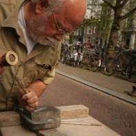 Wim Ponsen - aan het werk