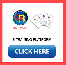 etraining in qualityrights in mental health