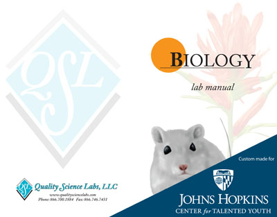 QSL custom CTY Biology Course Kit for Johns Hopkins