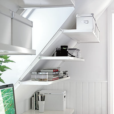 DIY attic storage units points to consider