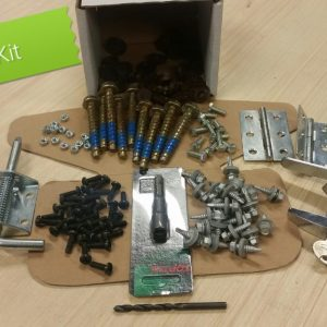 metal shed assembly kit