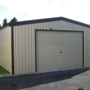 steel stud frame garage