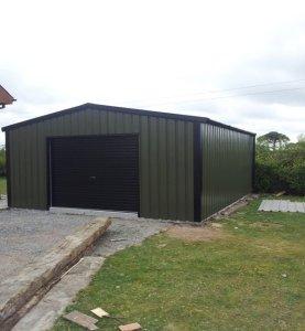 stud frame garden shed