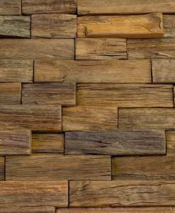 artisan-wood feature wall