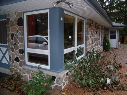 Awning With Upper Picture Window