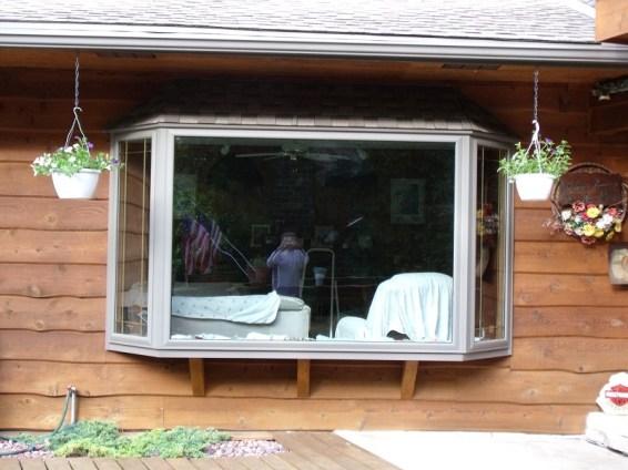 Bay window installation, Milwaukee, butler, wi,