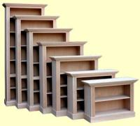 Quality Wood Furniture Unfinished bookcases Leesville ...