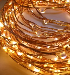 copper wire string lights qualizzi starry and string lights wiring dimmable led fixture copper led fixture wiring [ 2500 x 2444 Pixel ]