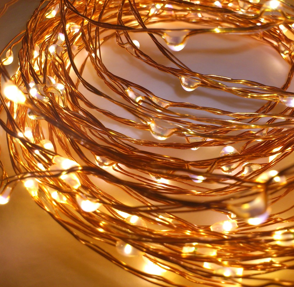medium resolution of copper wire string lights qualizzi starry and string lights wiring dimmable led fixture copper led fixture wiring