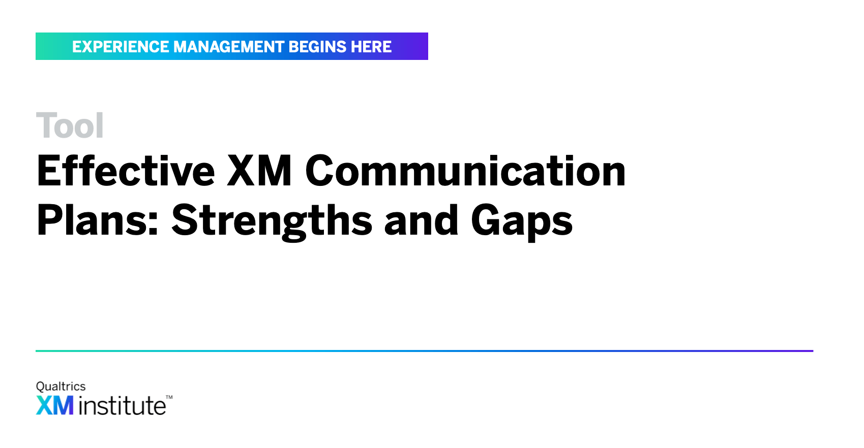 Worksheet Effective Xm Communication Plans