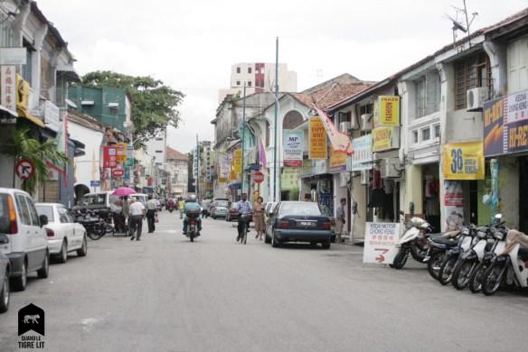 Rue des magasins de fringues, Malaisie
