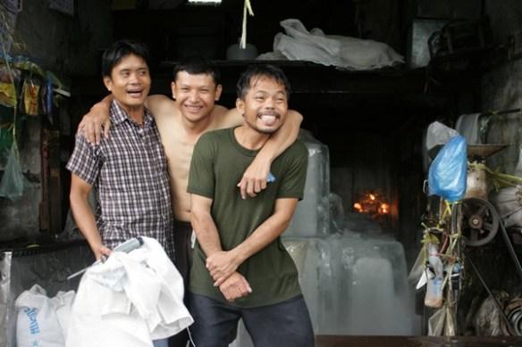 Respect du Mianzi : ils ont perdu, mais avec le sourire.