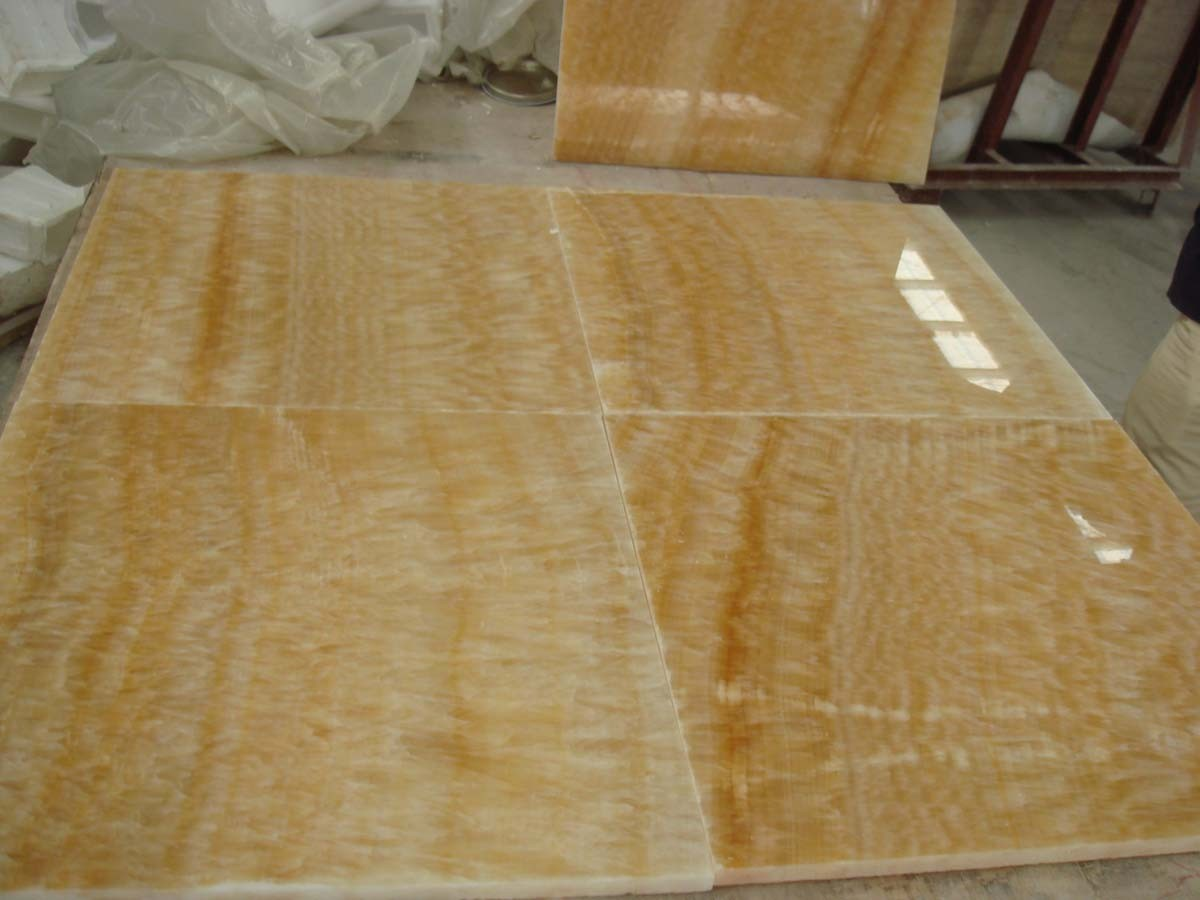 Honey Onyx Tile