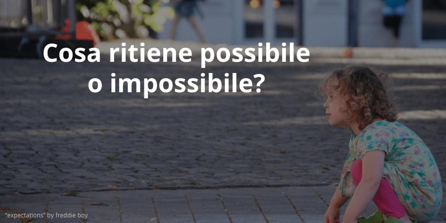 possibile impossibile per il bambino