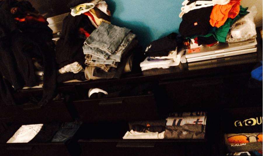 Declutter dresser