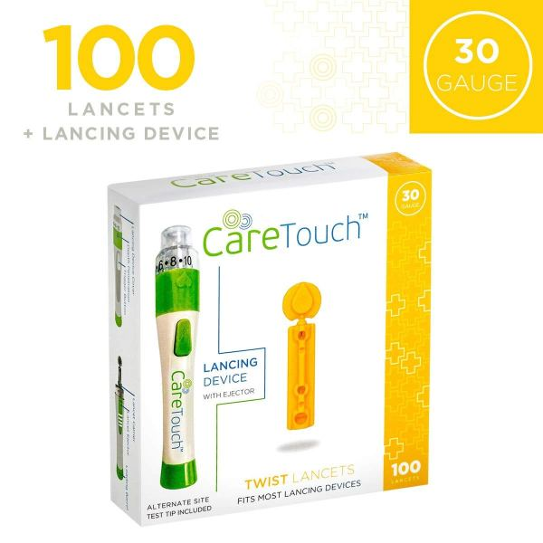 Care Touch Lancets and Lancing Device