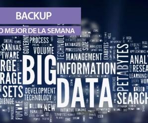 BackUp, lo mejor de la semana: Champions, Big Data y Redes Sociales