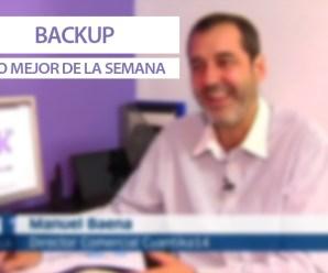BackUp, lo mejor de la semana: Big Data, campaña electoral y Twiana en los medios de comunicación