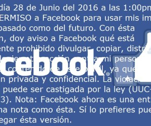 La privacidad de Facebook
