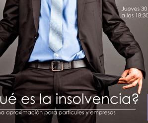 Charla gratuita sobre insolvencia